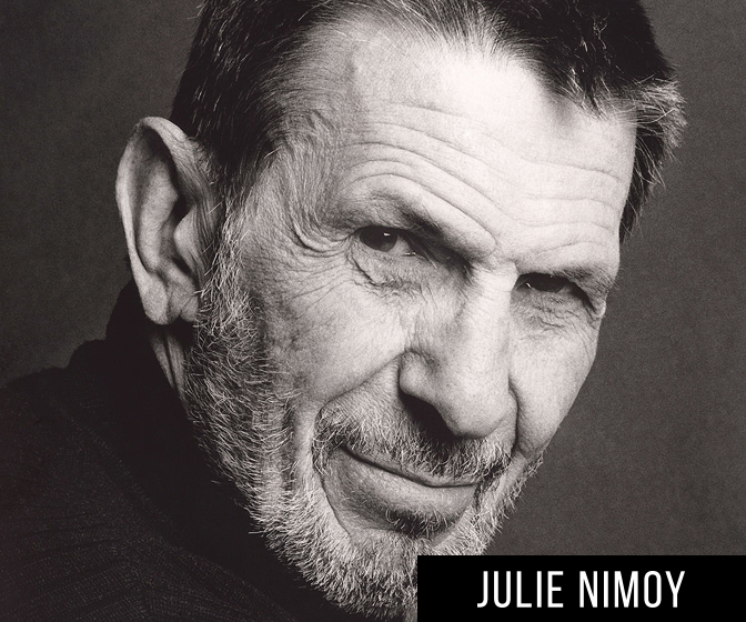 "Julie Nimoy Talks ""Remembering Leonard Nimoy"""